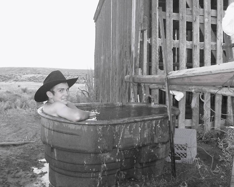 Cowboys Bath Tub By Wildfiremare Redbubble