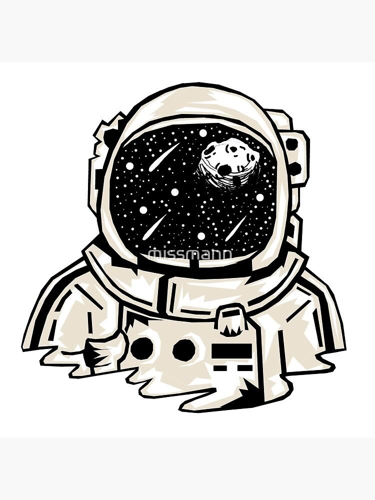 Astronaut Helmet Drawing : astronaut, helmet, drawing, Astronaut, Helmet