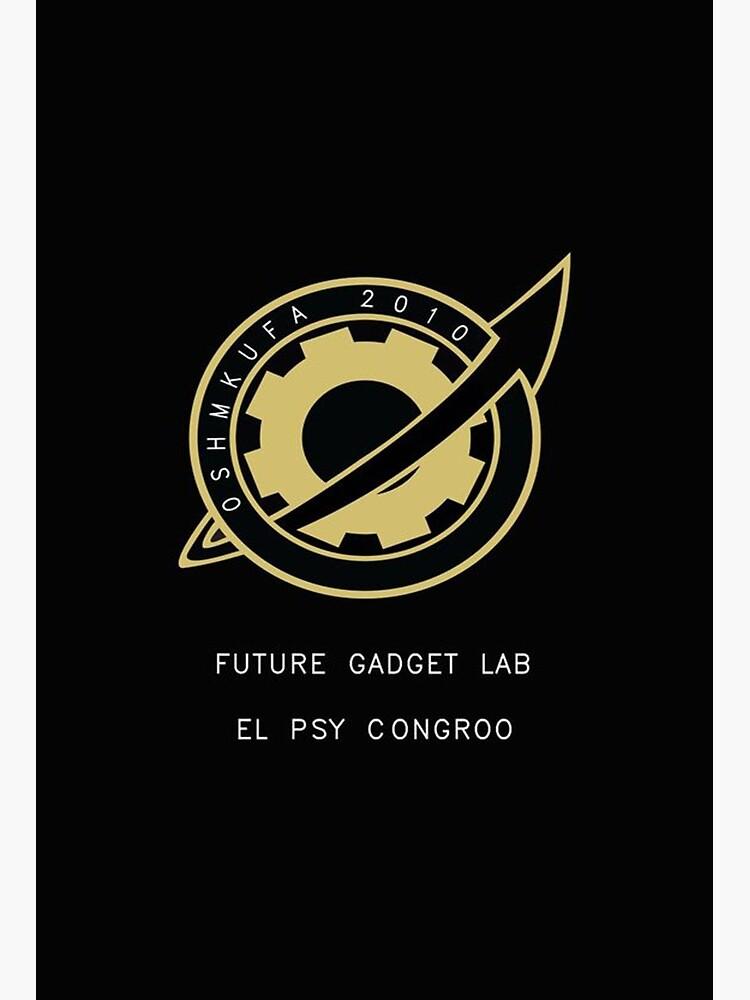 El Psy Congroo : congroo, Congroo, Black, Shirt