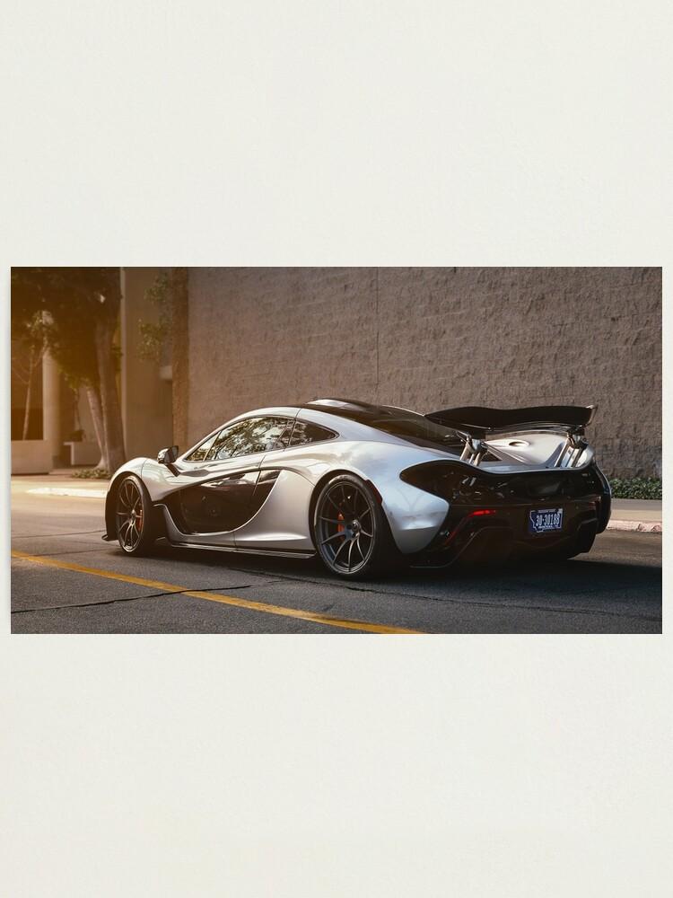 Mclaren P1 Silver : mclaren, silver, McLaren, Silver