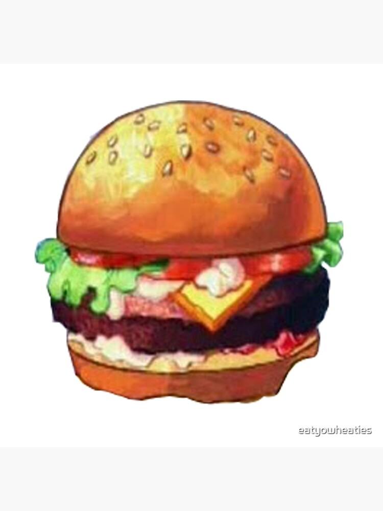 The Krabby Patty : krabby, patty, Krabby, Patty, Eatyowheaties, Redbubble
