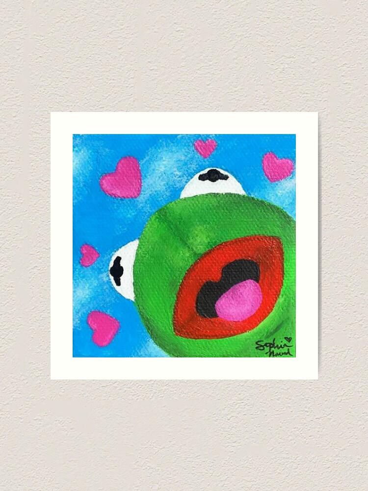 Kermit Meme Painting : kermit, painting, Wholesome, Kermit, Painting