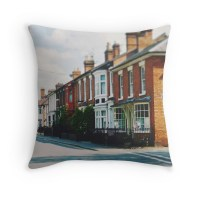 """Stratford-upon-Avon Houses"" Throw Pillows by Indea ..."
