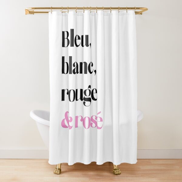 french flag shower curtains redbubble