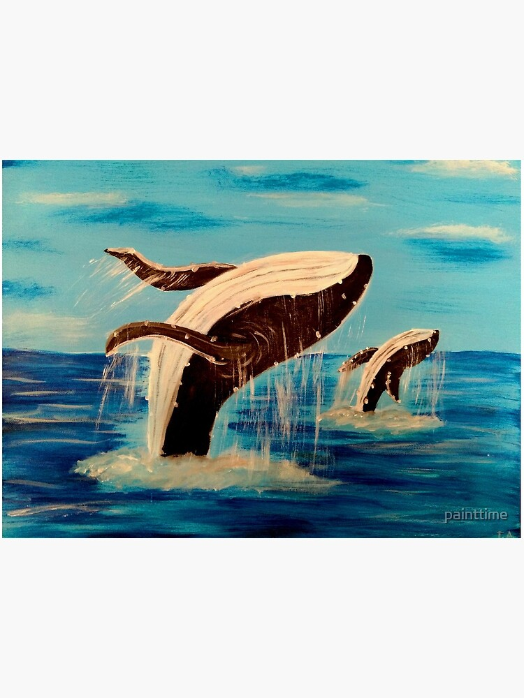 Acrylic Whale Painting : acrylic, whale, painting, Acrylic, Painting, Humpback, Whale