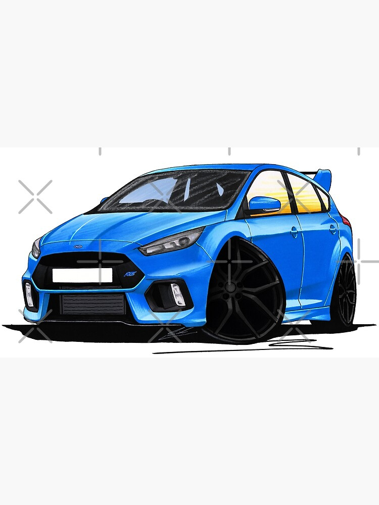 Ford Focus Rs Blue : focus, Focus, (Mk3), Blue