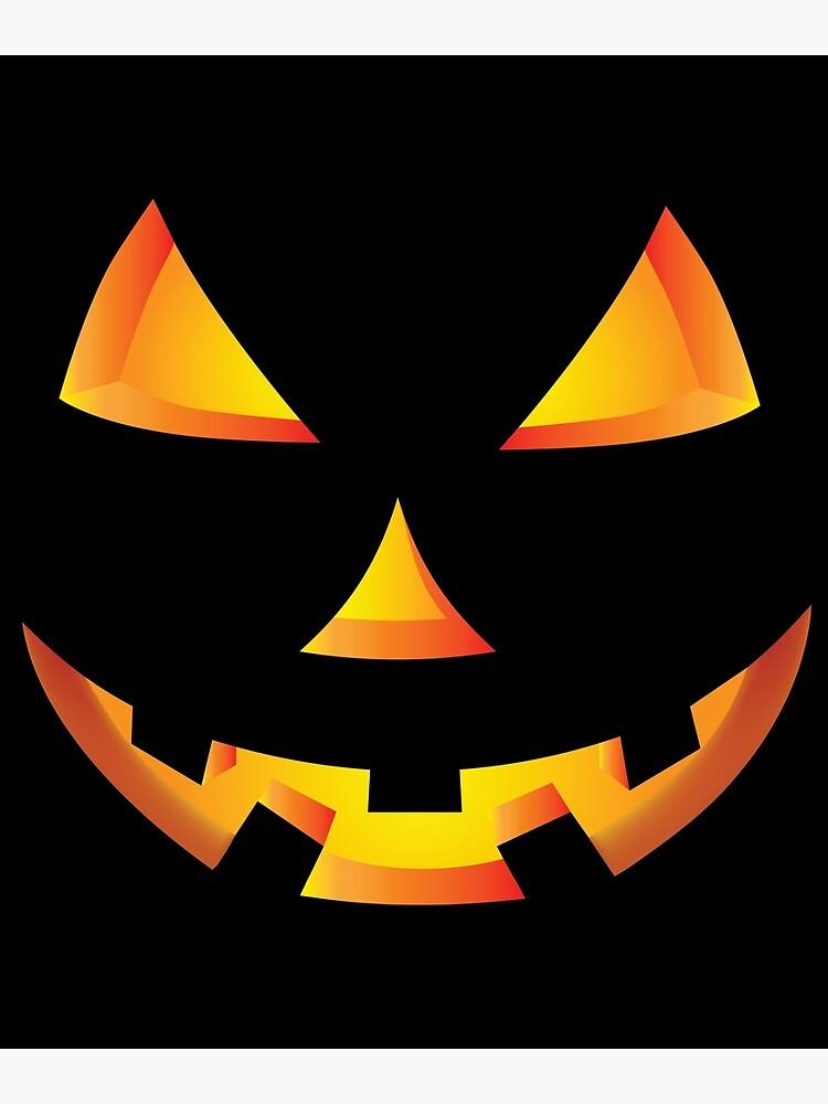 Jack-o-lantern Faces : jack-o-lantern, faces, Scary, Pumpkin, Halloween, Lantern, Graphic