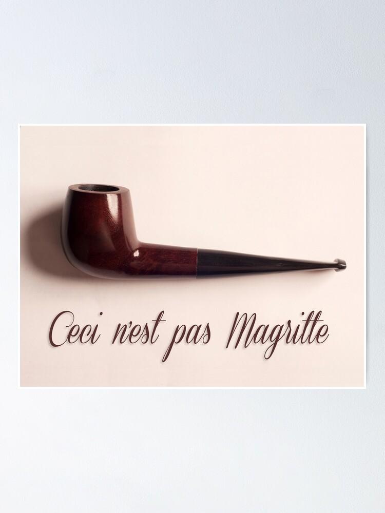 Ceci N'est Pas Une Pipe Magritte : n'est, magritte, N'est, Magritte, Pipe