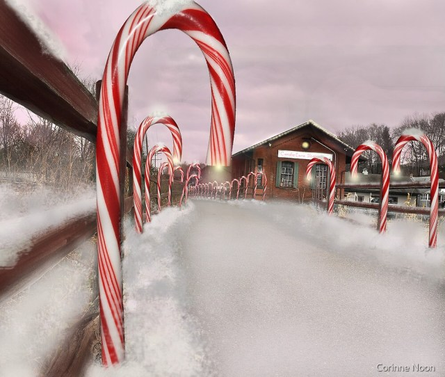 Candie Cane Station By Corinne Noon