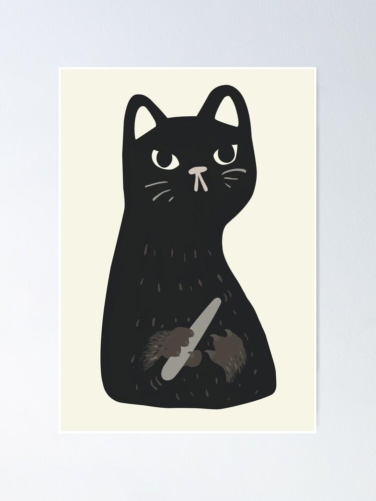 Black Cat Filing Nails : black, filing, nails, Black, Filing, Nails