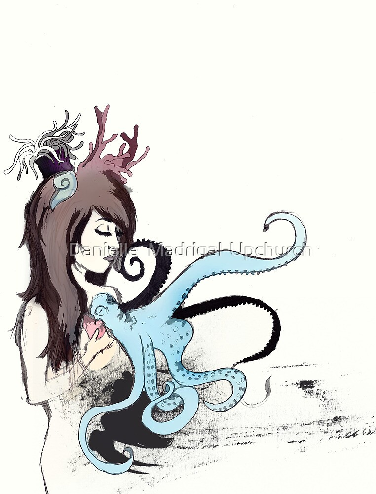 octopus heart by Danielle Madrigal  Redbubble