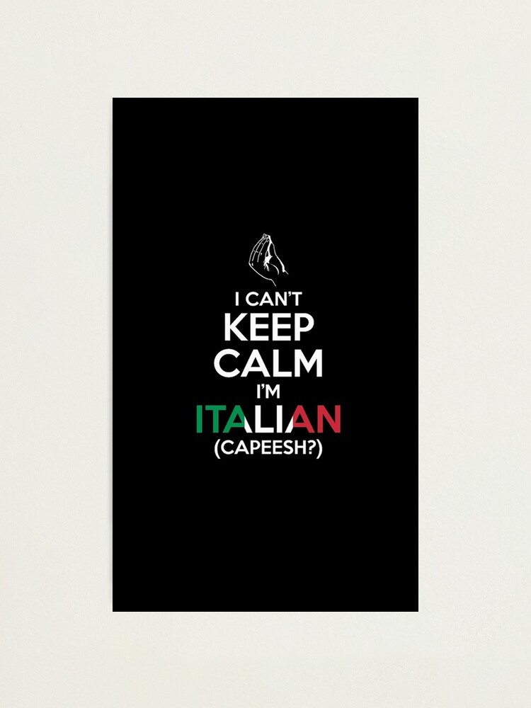 impression photo reste calme italien par salenasesshoop redbubble