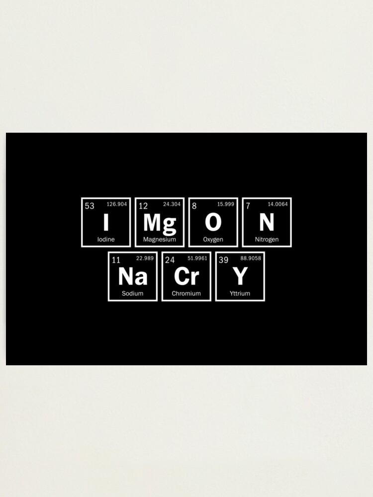 Periodic Table Memes : periodic, table, memes, IMgONNaCrY