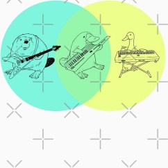 Platypus Venn Diagram John Deere 1020 Alternator Wiring Keytar Unisex T Shirt A Of Cute Tshirtgifter Presents