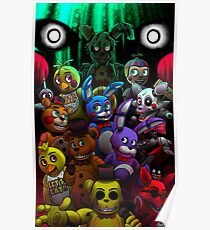 fnaf posters redbubble