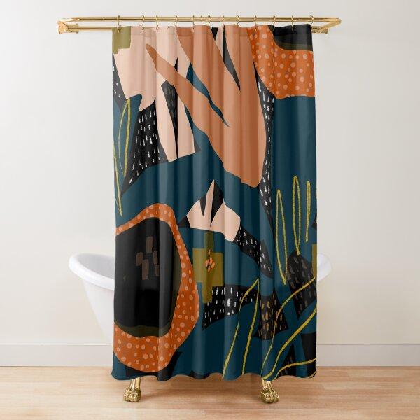 dark shower curtains redbubble