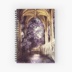 Elven Architecture Ancient Ruins Hardcover Journal by ObscurEmporium Redbubble