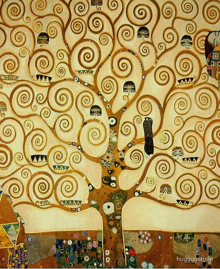 L'arbre De Vie De Klimt : l'arbre, klimt, Coque, Adhésive, Gustav, Klimt, L'arbre, Huggymauve, Redbubble
