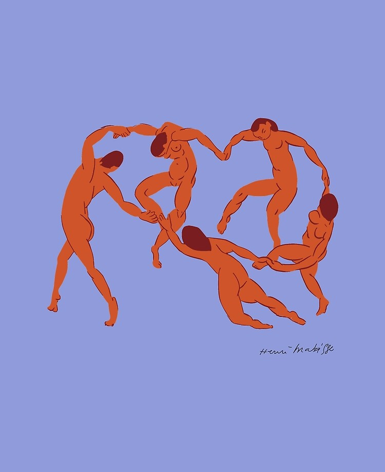 La Danse (matisse) : danse, (matisse), Henri, Matisse, Danse, Dance), Artwork, Reproduction, Prints,, Posters,, Canvas,, Tshirts,, Women, Youth