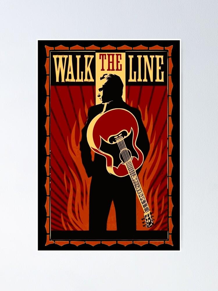 Johnny Cash Walk The Line : johnny, Johnny, Movie, Artwork, Joaquin, Phoenix