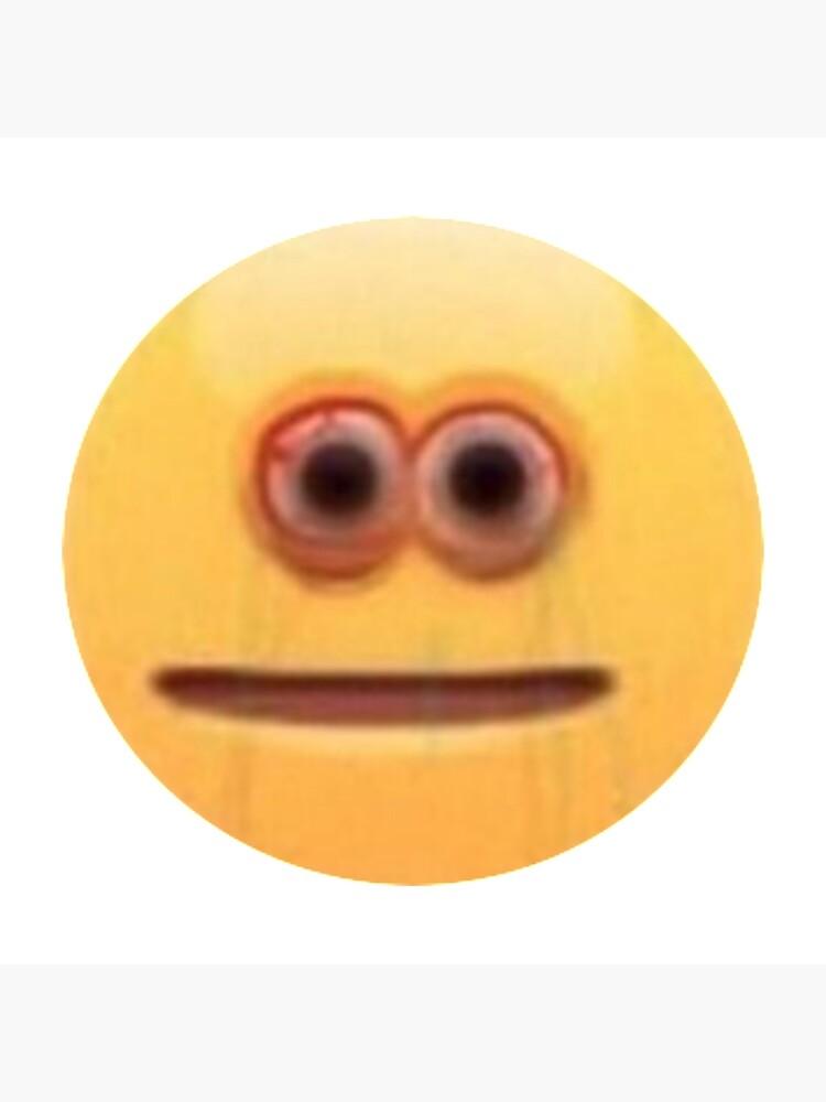 Staring Meme Face : staring, Emoji, Staring, Sticker