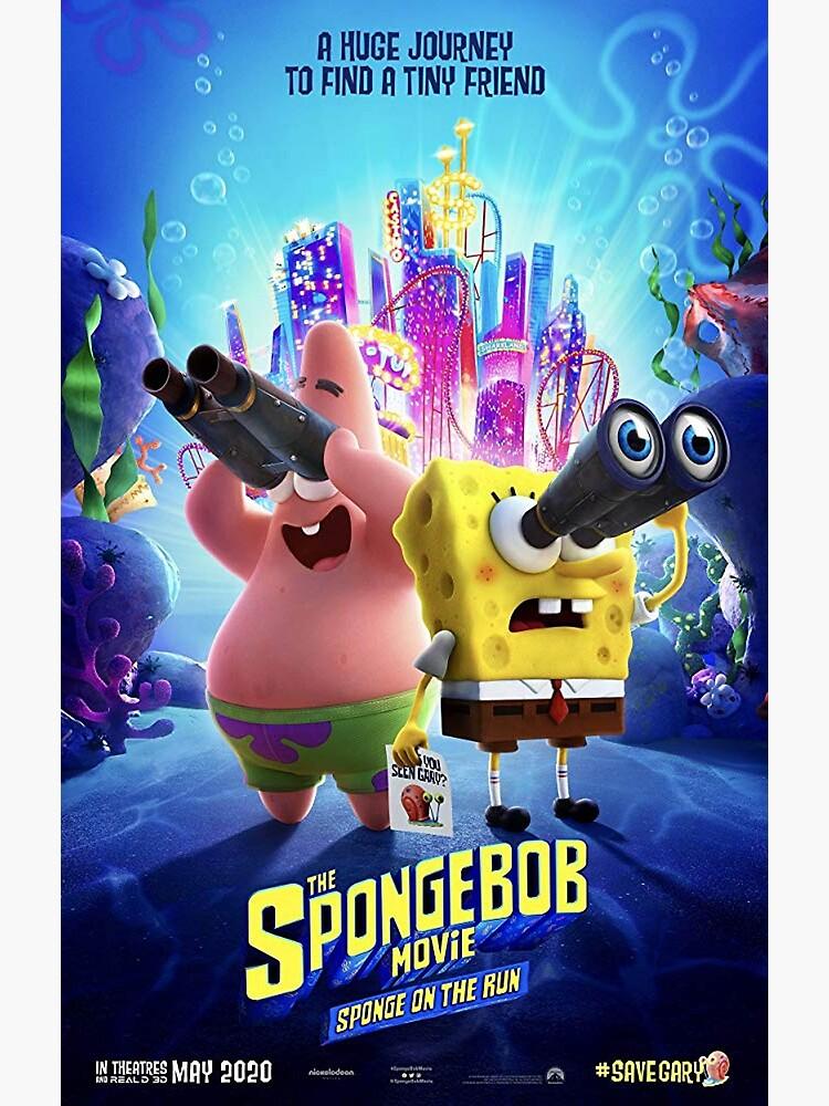 Spongebob Movie Poster 2020 : spongebob, movie, poster, SpongeBob, Movie:, Sponge, (2020)