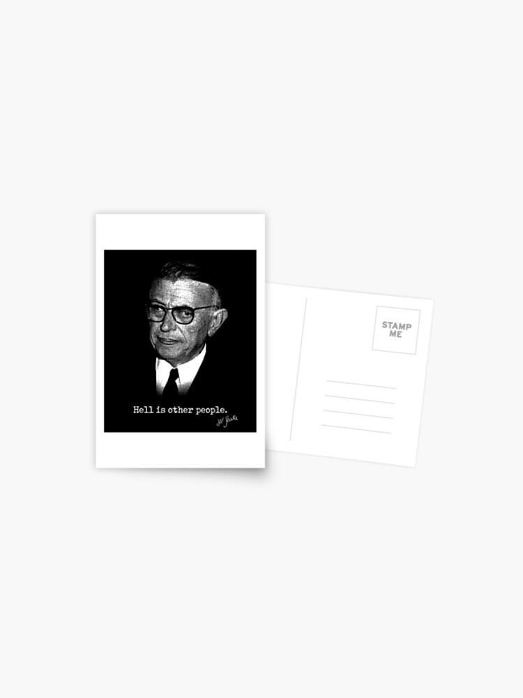 L Enfer C Est Les Autres Sartre : enfer, autres, sartre, Jean-Paul, Sartre, Other, People, L'enfer, C'est, Autres, Existentialist, Funny, Ironic, Shirt, Philosophers, Lovers