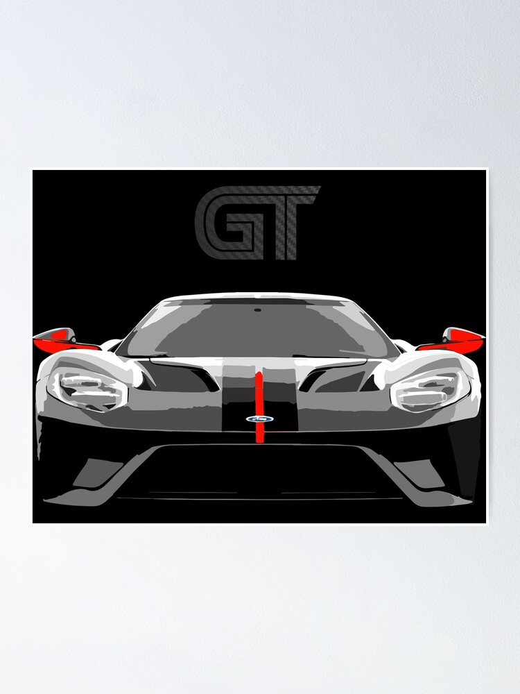 Ford Gt Poster : poster, Carbon, Series