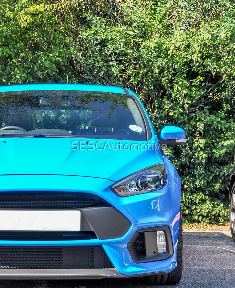Red or Blue Ford Focus RS Limited Edition Adds Limited