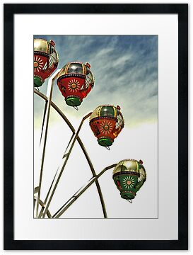 Framed Print: Neither Up Nor Down