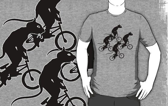 Shirt - Escape the Rat Race, by Stephen Mitchell, on Redbubble