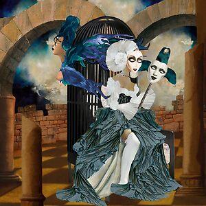 Eve Reborn as the Phoenix II by © zoequixote