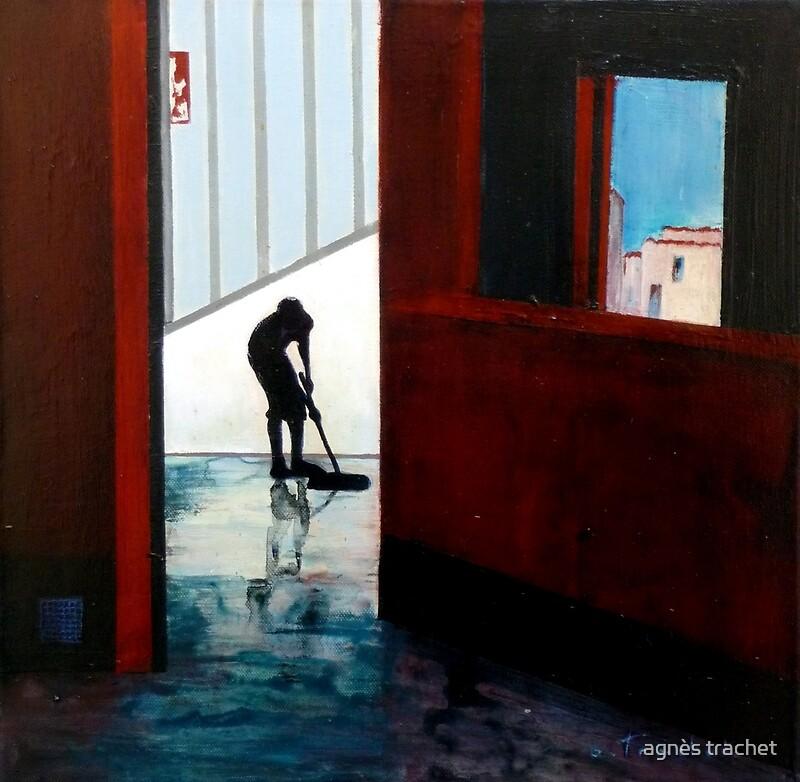 loneliness.. by © agnès trachet