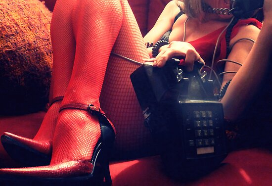 02-23-2011: The Dangers of Drunk Dialing (limited) by © Margaret Bryant