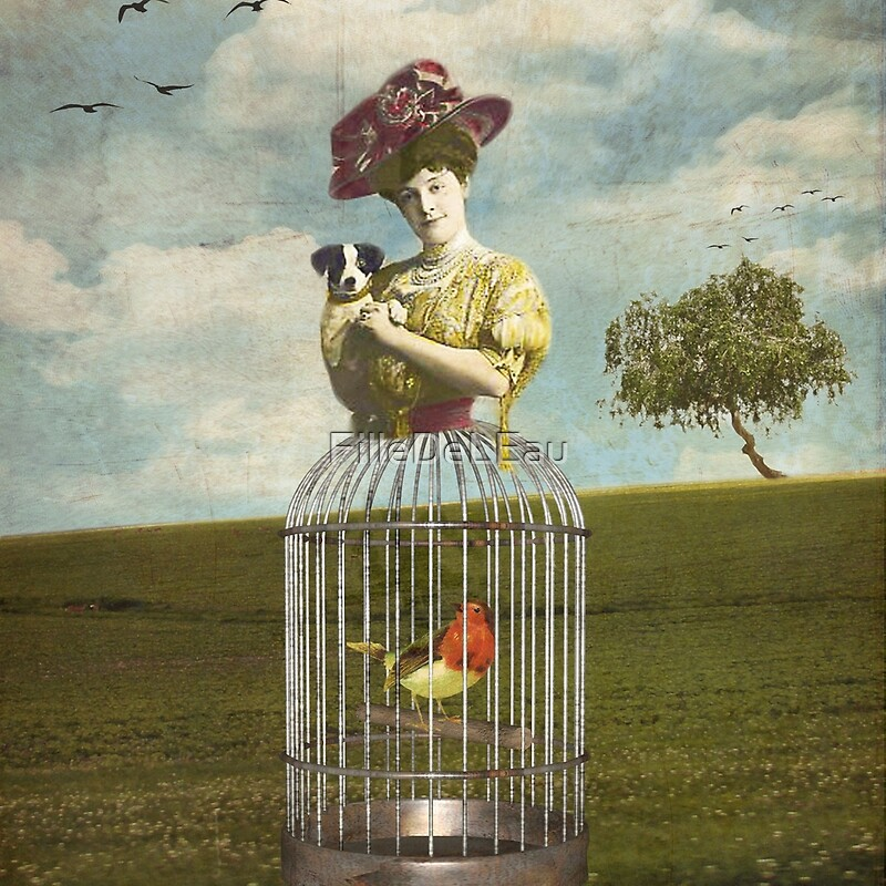 Lady Cage by © FilleDeLEau