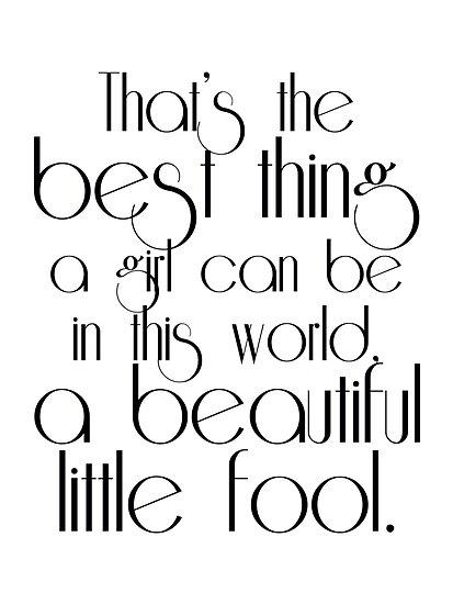Jay Gatsby Loving Daisy Quotes