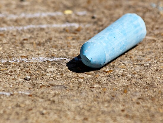 blue chalk