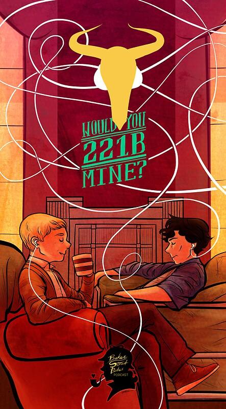 Baker Street Babes Poster 221B Mine image