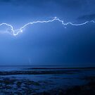 Lightning at Scarborough by Jack McClane