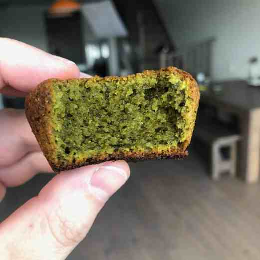 Keto Matcha Muffins