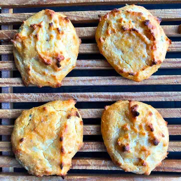 Cheesy Keto Cheddar Rolls