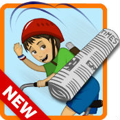 %name PaperBoy:Infinite bicycle ride v1.19 Mod APK + DATA