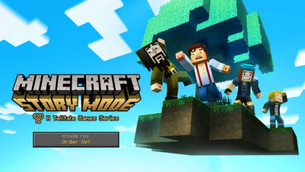 """%name Minecraft: Story Mode Episode 5 """"Order Up"""" Is Out"""