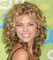 medium length naturally curly hairstyles
