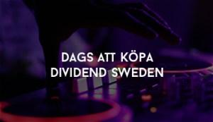 Köpa Dividend Sweden
