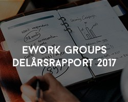 eWork Groups Delårsrapport 2017