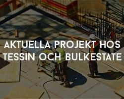 Aktuella Projekt hos Tessin och Bulkestate