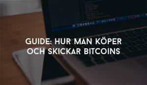 hur man köper och skickar Bitcoins