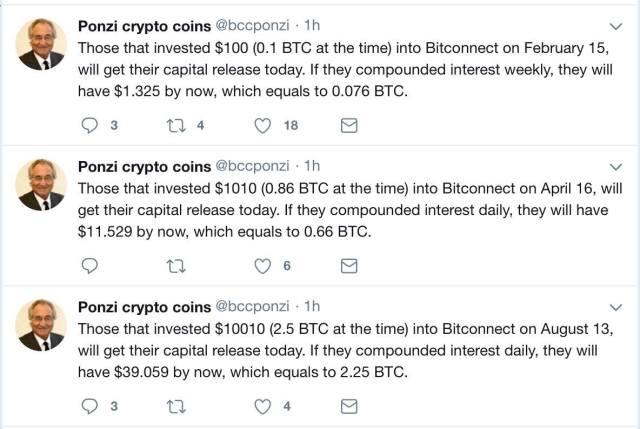 Bitconnect scam ponzi scheme