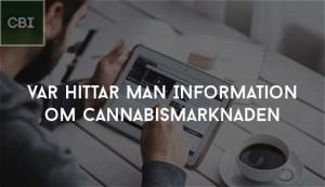 Var hittar man Information om Cannabismarknaden